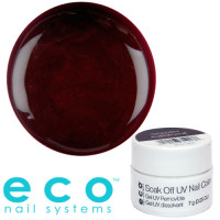 Eco Nail Systems Golden Aubergine Eco Soak Off geelilakka 7 g