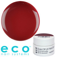 Eco Nail Systems Red Rock Eco Soak Off geelilakka 7 g