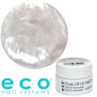 Eco Nail Systems Mother of Pearl Eco Soak Off geelilakka 7 g
