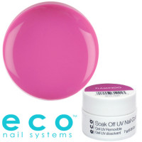 Eco Nail Systems Flamingo Eco Soak Off geelilakka 7 g