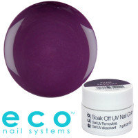 Eco Nail Systems Plum Passion Eco Soak Off geelilakka 7 g