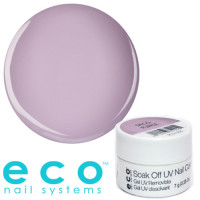 Eco Nail Systems Deco Purple Eco Soak Off geelilakka 7 g