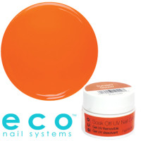 Eco Nail Systems Sunset Glow Eco Soak Off geelilakka 7 g