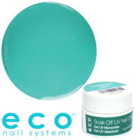 Eco Nail Systems Caribbean Mint Eco Soak Off geelilakka 7 g
