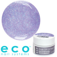Eco Nail Systems Sweetie Glitter Eco Soak Off geelilakka 7 g