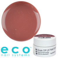 Eco Nail Systems Morrocan Clay Eco Soak Off geelilakka 7 g