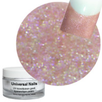 Universal Nails Tähti Nude UV/LED glittergeeli 10 g