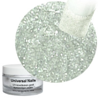 Universal Nails Hopea Uni UV glittergeeli 10 g