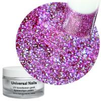 Universal Nails Vadelma UV glittergeeli 10 g