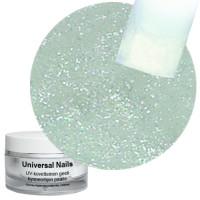 Universal Nails Valkoinen Sateenkaari UV glittergeeli 10 g