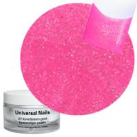 Universal Nails Hieno Pinkki UV glittergeeli 10 g
