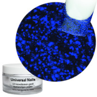 Universal Nails Sininen Laser UV glittergeeli 10 g