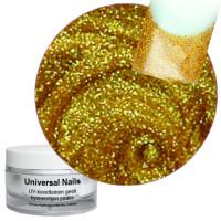 Universal Nails Lux Kulta UV glittergeeli 10 g