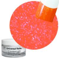Universal Nails Oranssi UV glittergeeli 10 g