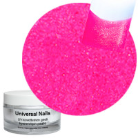 Universal Nails Neon Pinkki UV/LED glittergeeli 10 g
