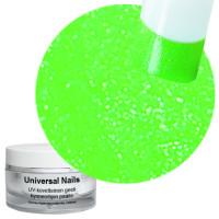 Universal Nails Neon Vihreä UV glittergeeli 10 g
