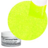 Universal Nails Neon Keltainen UV glittergeeli 10 g