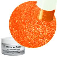 Universal Nails Neon Mandariini UV glittergeeli 10 g