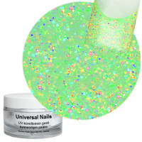 Universal Nails Neon Multi UV glittergeeli 10 g