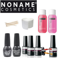 Noname Cosmetics Geelilakka-aloituspaketti ilman uunia