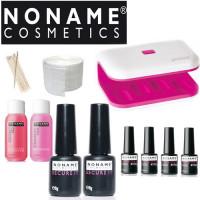 Noname Cosmetics Geelilakka-aloituspaketti Promed UV-LED 8 Mini LED-uunilla