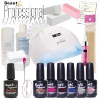 BeautQ Professional Geelilakka-aloituspaketti Promed UVL-54 UV&LED-uunilla