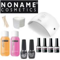 Noname Cosmetics Geelilakka-aloituspaketti SUN 9C UV & LED-uunilla