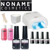 Noname Cosmetics Geelilakka-aloituspaketti Promed UVL-36 UV-uunilla