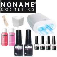 Noname Cosmetics Geelilakka-aloituspaketti Promed UVL-36 S UV-uunilla