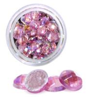 Sina Globe Stone timantti pinkki 48 kpl