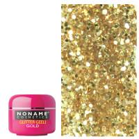 Noname Cosmetics Glitter Gold Glitter UV geeli 5 g
