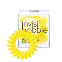 Invisibobble Submarine Yellow Keltaiset Invisibobble Hiuslenkit 3 kpl