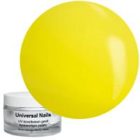 Universal Nails Keltainen UV neongeeli 10 g