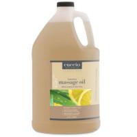 Cuccio Naturalé Massage Oil White Limetta & Aloe Vera hierontaöljy 3,75 L