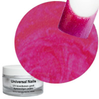 Universal Nails Flurry Fuksia UV metalligeeli 10 g
