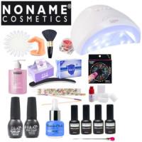 Noname Cosmetics 3-vaihe Geelilakka-aloituspaketti Sun One UV & LED uunilla