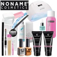 Noname Cosmetics Fengshangmei Powder Polygel Aloituspaketti Master Promed UVL-54 UV & LED-uunilla