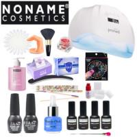 Noname Cosmetics 3-vaihe Geelilakka-aloituspaketti Promed UVL-54 UV & LED-uunilla