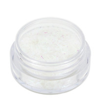 Noname Cosmetics Säkenöivät Valkoiset glittersäikeet 1.5 g
