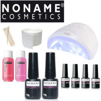 Noname Cosmetics Geelilakka-aloituspaketti SUN One UV & LED-uunilla