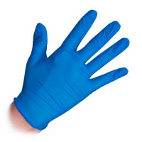 Noname Cosmetics Nitrile Examination Gloves Blue Nitriilikäsineet M 100 kpl