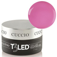 Cuccio Opaque Nude Pink T3 LED/UV Controlled Leveling Cool Cure geeli 28 g