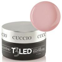 Cuccio Opaque Petal Pink T3 LED/UV Self Leveling Cool Cure geeli 28 g