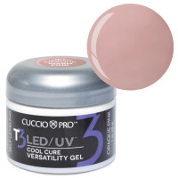 Cuccio Opaque Warm Pink T3 LED/UV Self Leveling Cool Cure geeli 28 g