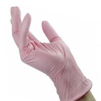 Noname Cosmetics Pinkit Nitriilikäsineet S 100 kpl
