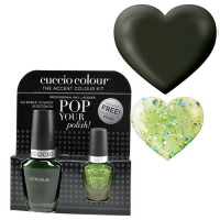 Cuccio Glasgow Nights Pop Your Polish kynsilakkapaketti 13 + 3,5 mL
