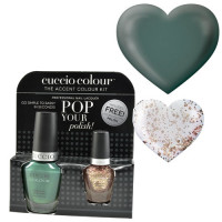 Cuccio Dubai Me An Island Pop Your Polish kynsilakkapaketti 13 + 3,5 mL