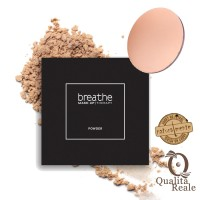 Naturalmente Breathe Make-Up Therapy Compact Powder Puuteri #02 Sand 9 g