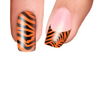 Trendy Nail Wraps Eye of the Tiger Kynsikalvo kärkikalvo