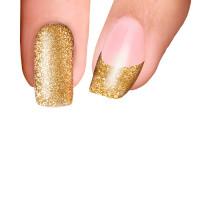 Trendy Nail Wraps Golden Sand Kynsikalvo kärkikalvo